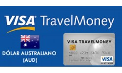 Visa TravelMoney - Dólar Australiano (AUD)