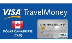 Visa TravelMoney - Dólar Canadense (CAD)