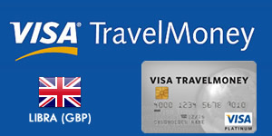 Visa TravelMoney - Libra (GBP)