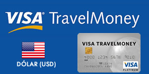 Visa TravelMoney - Dólar (USD)